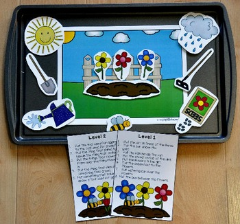 Plant A Garden Adapted Books Unit
