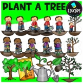 Plant A Tree Clip Art Bundle {Educlips Clipart}
