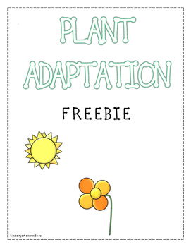 Plant Adaptation - FREEBIE
