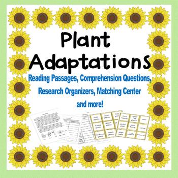 Plants (Plant Adaptations)