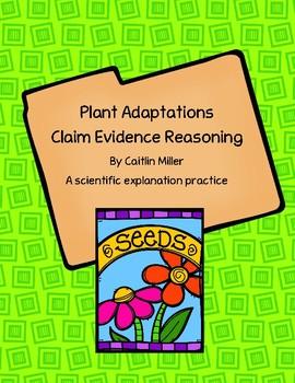 Plant Adaptations Claim Evidence Reasoning
