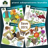 Plant Adaptations Clip Art Bundle