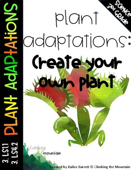 Plant Adaptations: Create Your Own Plant