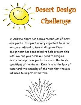 Plant Adaptations Design Challenge