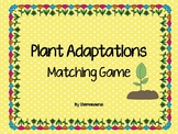 Plant Adaptations Matching Game