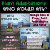 Plant Adaptations - Distance Learning - Google