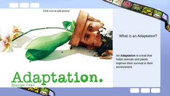 Plant Adaptations Powerpoint