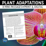 Plant Adaptations Reading Passages
