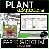 Plant Adaptations Reading Passages Differentiated, Digital