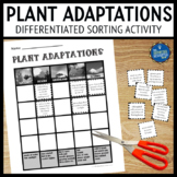 Plant Adaptations Sorting Activity