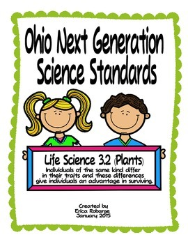 Plant Adaptations Tab Booklet (Ohio LS 3.2)