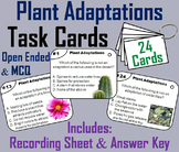 Plant Adaptations Task Cards (Biomes and Habitats Unit)