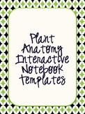 Plant Anatomy Interactive Notebook Templates