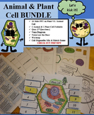 Animal Cells & Plant Cells PowerPoint Presentation BUNDLE