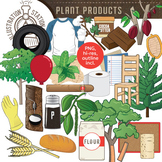 Plant Products Clip Art