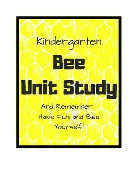 Plant, Bee, Polar Bear Unit Study Bundle