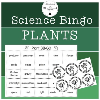Plants-Third Grade Science Bingo