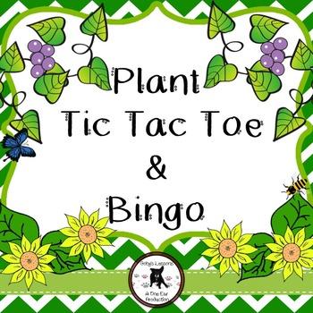 Plant Bingo and Tic Tac Toe