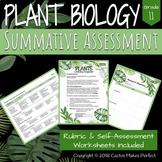 Plant Biology Summative Assessment