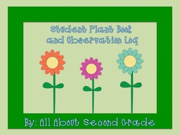 Plant Book and Observation Log/Journal