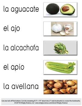 Plant Bookmarks? - Spanish