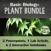 Characteristics of the Plant Kingdom- Powerpoints, Lab, Interactive Notebooks
