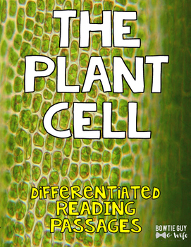 Plant Cell Differentiated Nonfiction Reading Passages