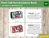 Plant Cell Nomenclature Book (Red)