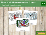 Plant Cell Nomenclature Cards