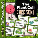 Plant Cell Organelles Card Sort | Science Card Sort