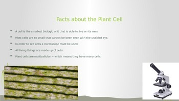 Plant Cell PowerPoint and Interactive Notetaking