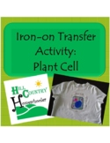 Plant Cell Science T-shirt Apron Iron-on Transfer Activity