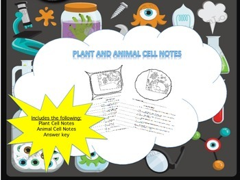 Plant Cell and Animal Cell Notes