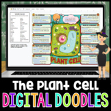 Plant Cell and Organelles Digital Doodle | Science Digital