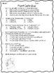 Plant Cells Quizzes- 4 total