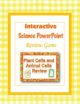 Plant Cells and Animal Cells Review PowerPoint (Multiple Choice)