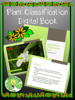 Plant Classification Digital Picture Book