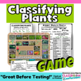 Plant Classification Game: A Life Science Activity
