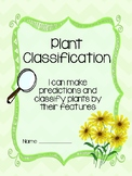 Plant Classification Observation Journal