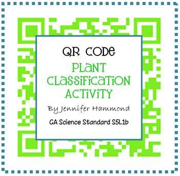 Plant Classification QR Code Activity