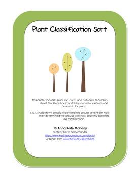 Plant Classification Sort