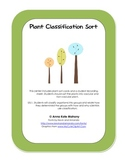 Plant Classification Sort