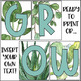 Plant Decor | Motivational Posters | Growth Mindset Posters
