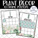Plant Decor: Ten Frame Posters