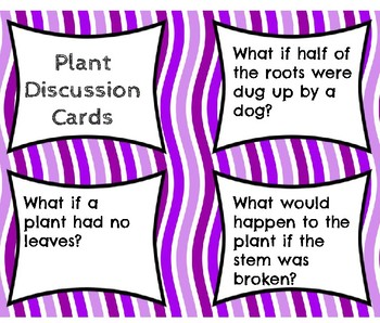 Plant Discussion Cards