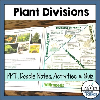 Divisions/Phyla of the Plant Kingdom: Powerpoint & Interactive Notebook