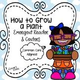 Plants Emergent Reader & Centers