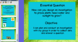 Plant Experiment Lesson Plan and Flip Chart