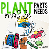 Plant Facts Mobile- Plant Parts and Needs