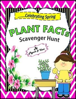 Plant Facts Scavenger Hunt - An Activity